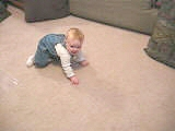 09-24-04 - Emma Crawling and Climbing